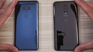 HTC U12 Plus vs OnePlus 6 - Speed Test!