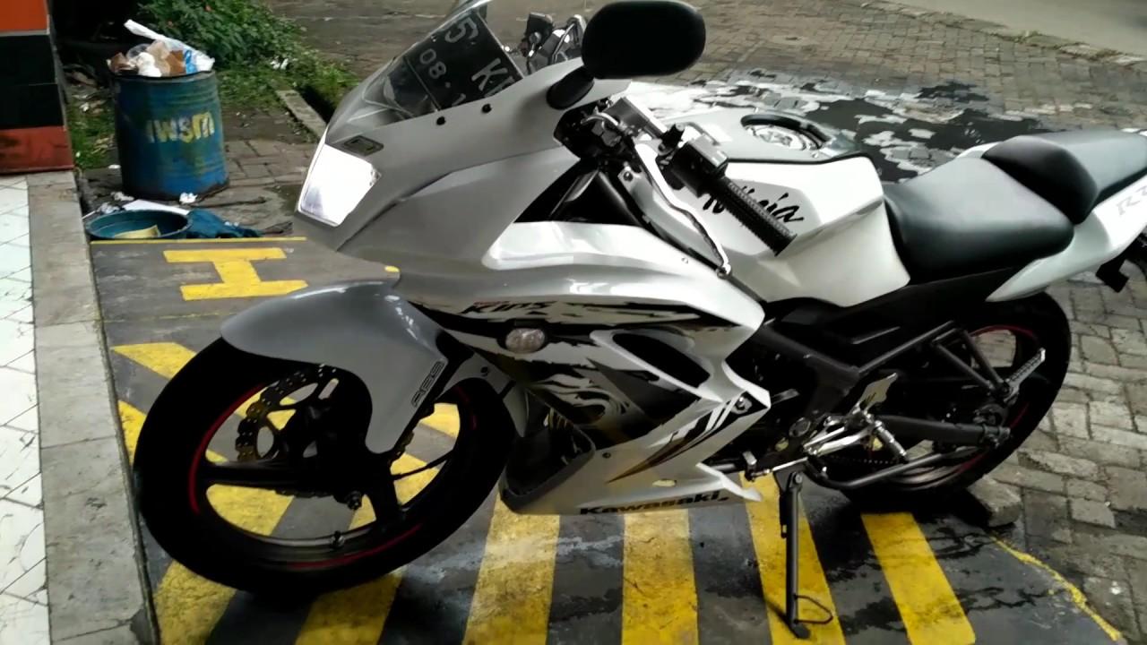 Ninja 150 Rr 2013 Spesial Edition Putih Youtube Visor Kawasaki New