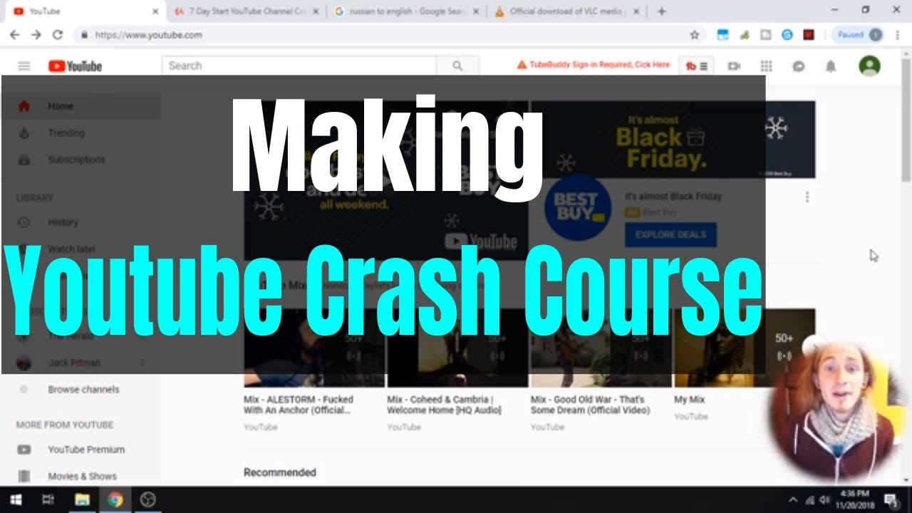 Making a Free YouTube Crash Course on Udemy - Course Creation WorkFlow