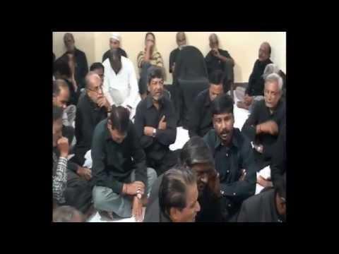 22nd Muharram Majlis at Kotla Alijah, Hyderabad 1437-2015-16