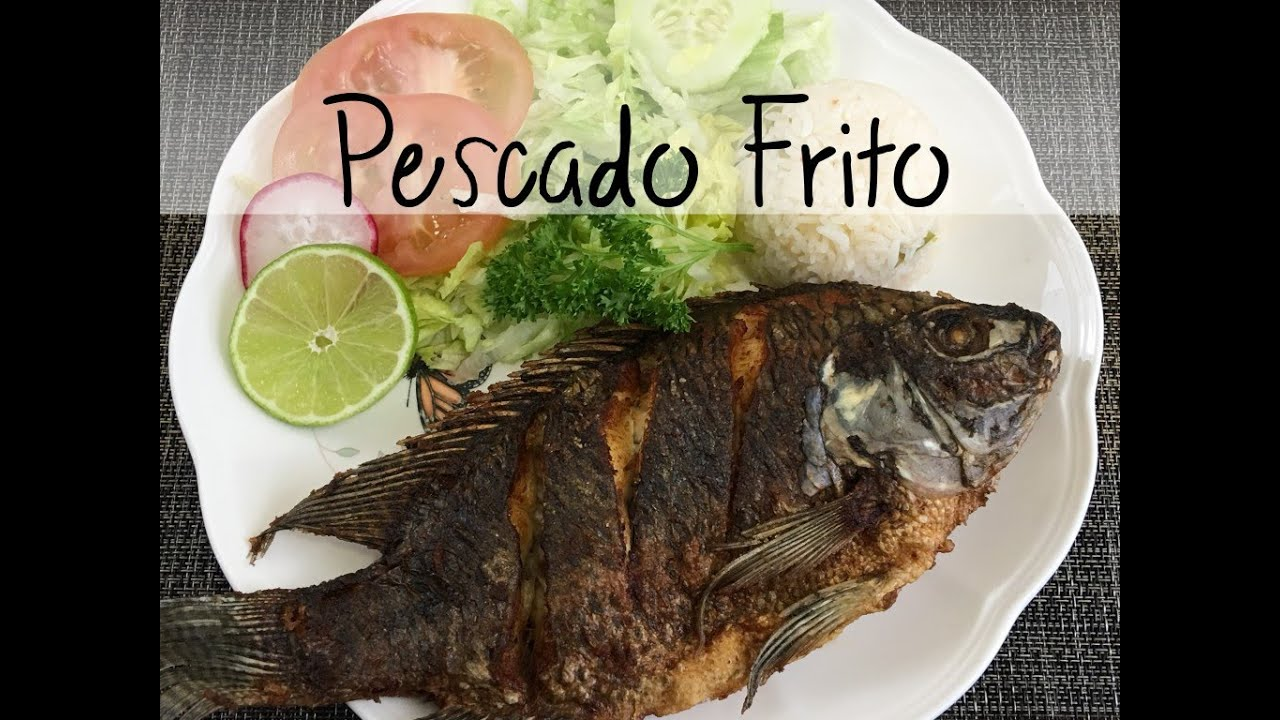 Pescado frito o mojarra frita muy facil y rapido de for Como cocinar pescado