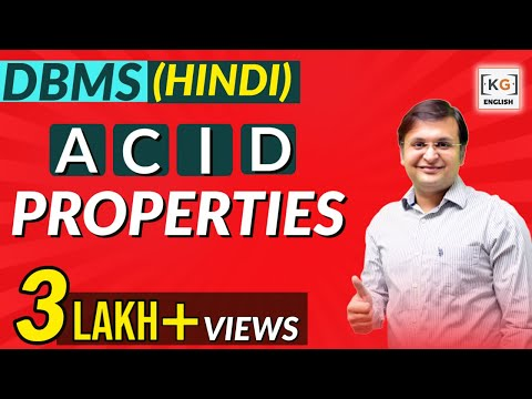 ACID Properties | DBMS | part-18