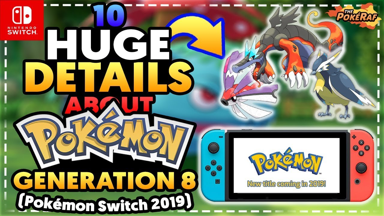 10 More New Huge Details About Pokémon S 2019 Core Rpg For