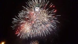 Одесса: салют 2019 / Новогодний салют в Одессе / Вид с морвокзала / New Year 2019 / Salute 2019