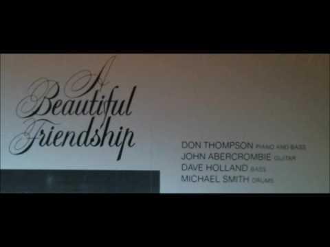 Don Thompson 1984 LP 'A Beautiful Friendship'