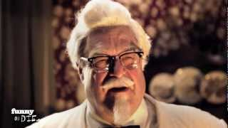 colonel sanders on the road
