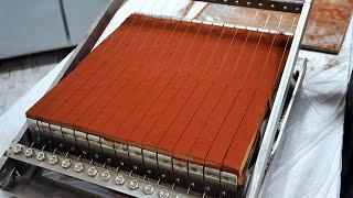 Удивительный процесс приготовления шоколада, лучший шоколадный мастер Top3 / Корейская уличная еда