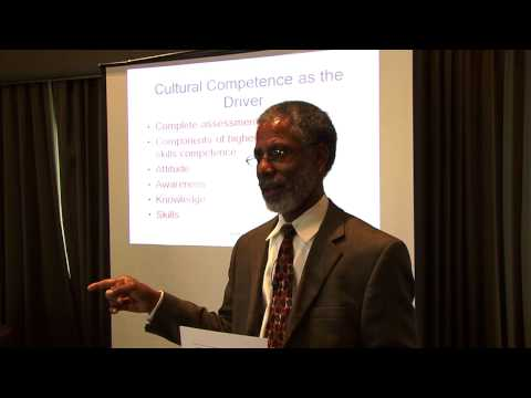 What is Cultural Competence? - Part 1 - Billy Vaughn, PhD CDP