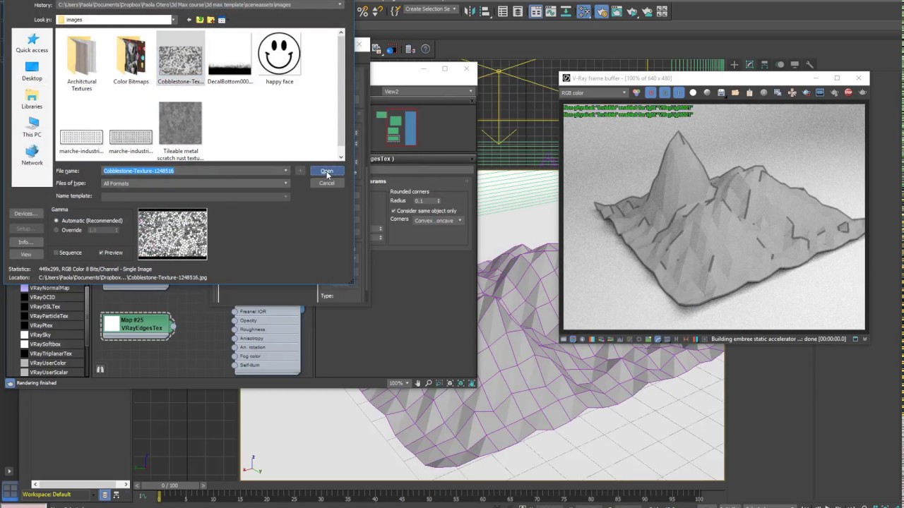 Vray Edges Tex and Vray Toon