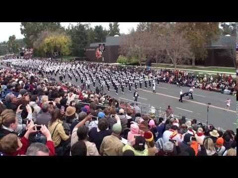 Penn State University Blue Band  2017 Pasadena Rose Parade