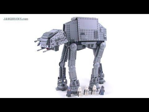 Lego star wars at at walker 2014 version review 75054 - Bd lego star wars ...