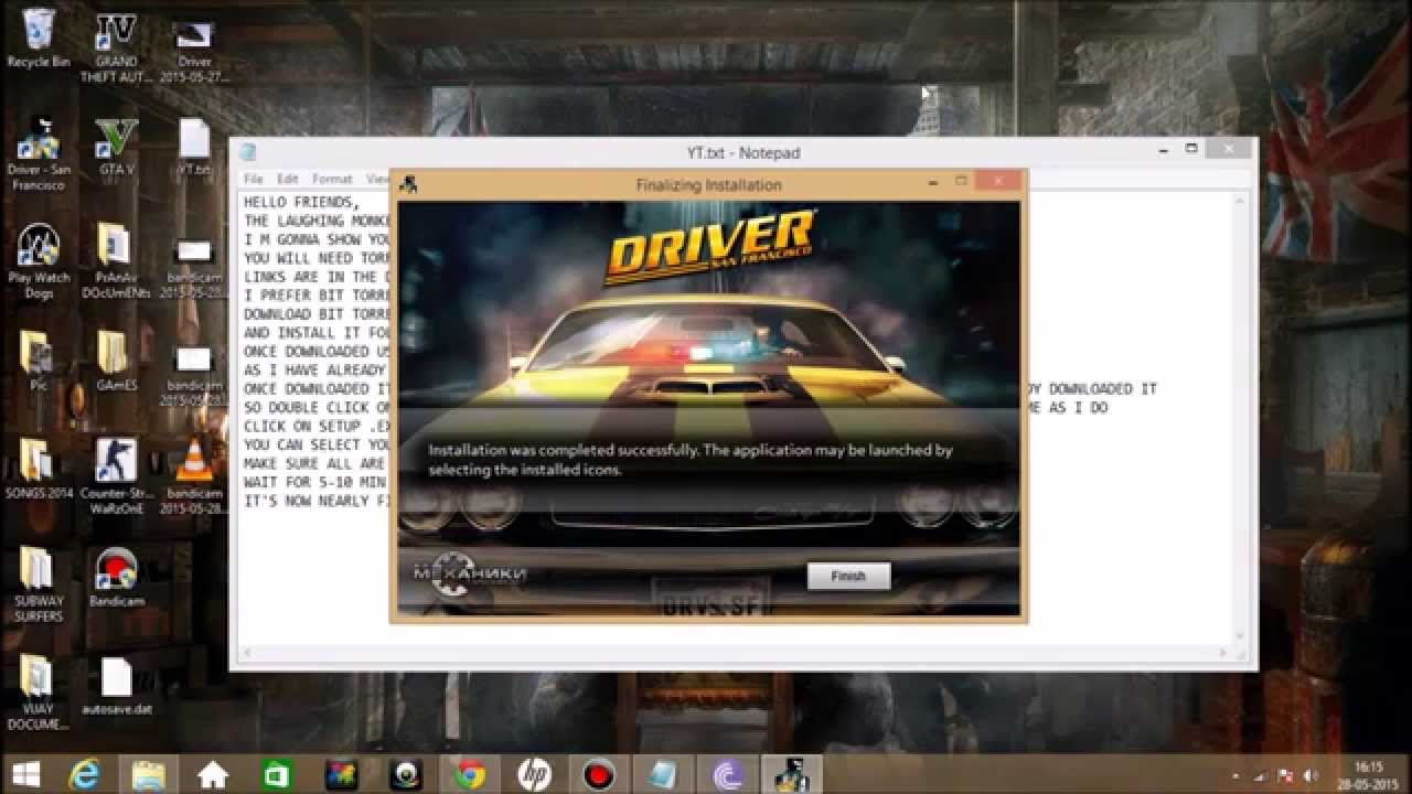 ff40ce9c HOW TO DOWNLOAD AND INSTALL DRIVER SAN FRANCISCO ON WINDOWS PC FOR ...