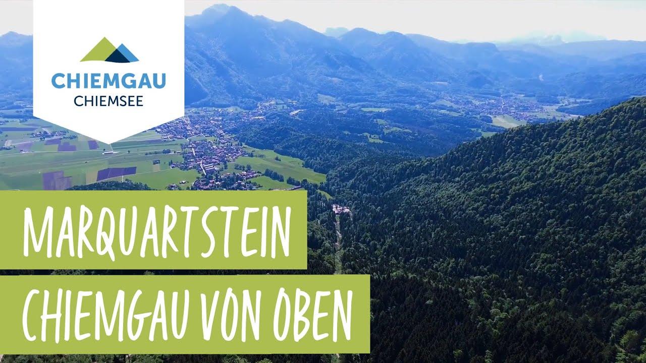Marquartstein Chiemsee-Chiemgau Drohnenaufnahme