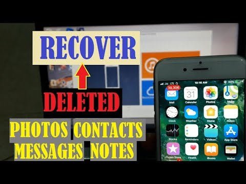 HOW TO GET BACK DELETED FILES FROM IPHONE ITUNES OR ICLOUD