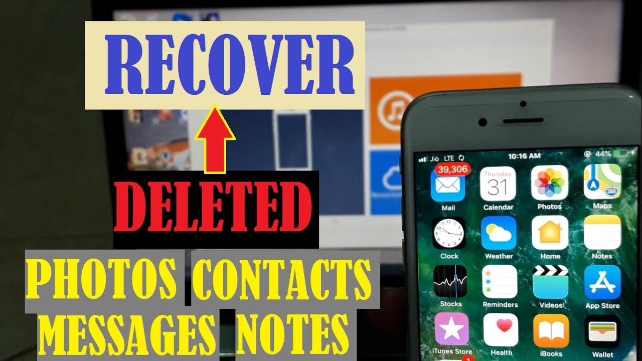 How to get photos back on iphones without icloud