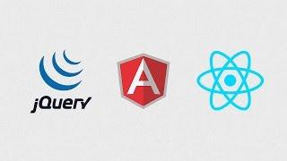 Tutoriel Javascript : jQuery / Angular / ReactJS