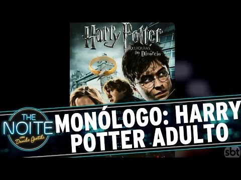 The Noite (20/09/16) - Monólogo: Danilo mostra como será Harry Potter na vida adulta