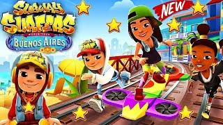 SUBWAY SURFERS BUENOS AIRES ANDROID GAME PLAY #47 HD