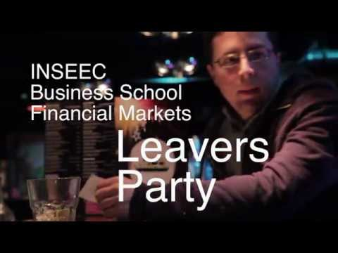 INSEEC London Leavers Party with MSc 1 financial markets