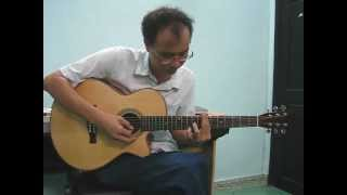 Guitar cover by lopnhacanhngoc_Hotel California_Made in Viet Nam