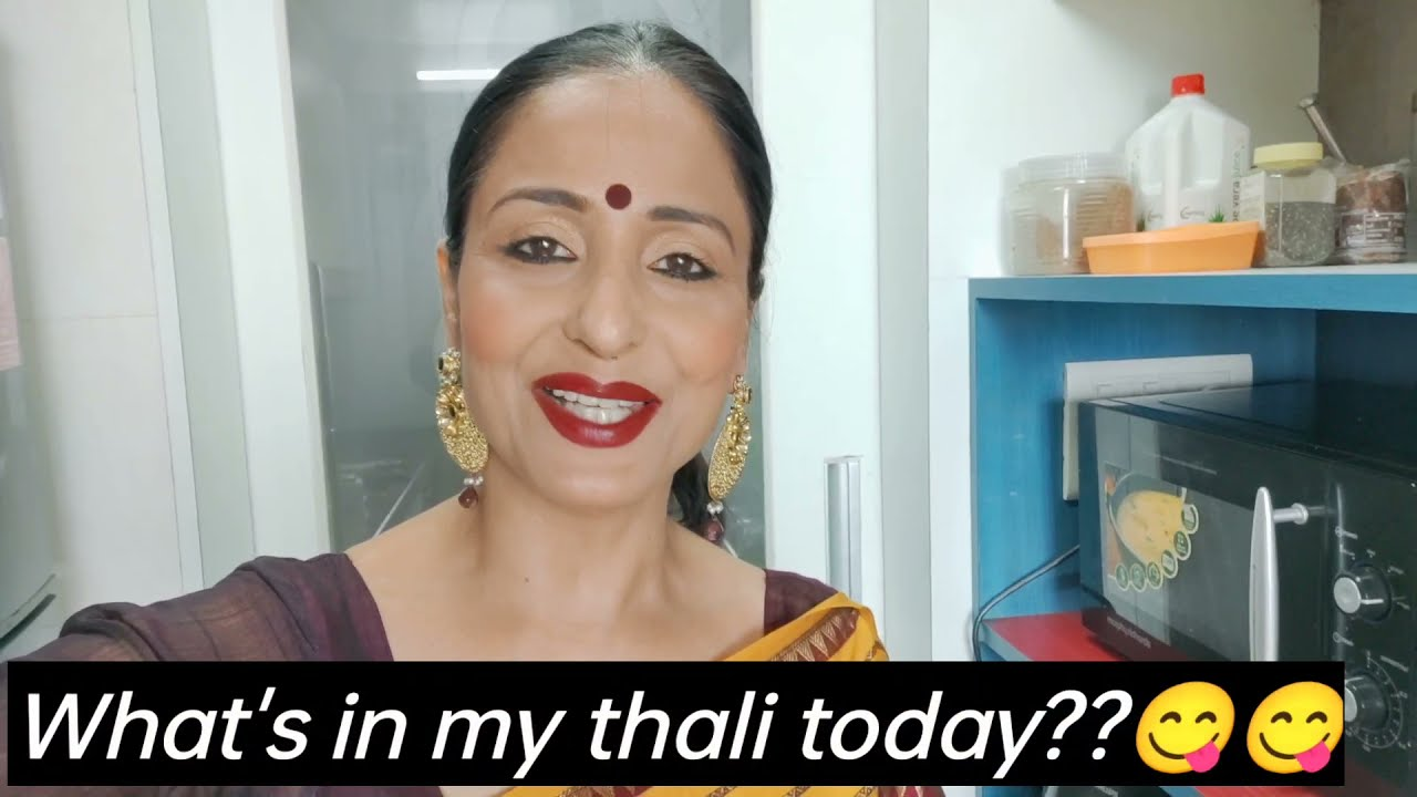 What's in my thali today?😋  Lataa Saberwal  Nutrition Tip  Healthy eating  Healthy Lifestyle #shorts