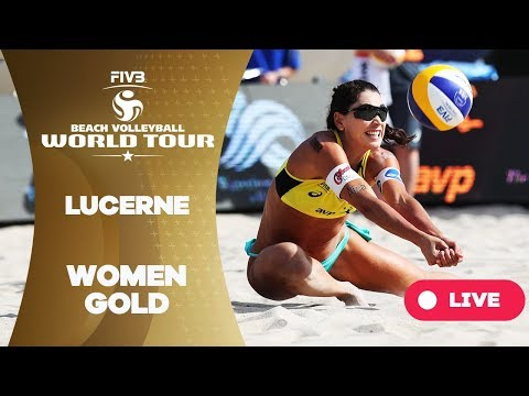 Lucerne - 2018 FIVB Beach Volleyball World Tour - Women Gold Medal Match