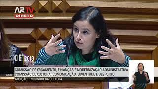 PCP questiona Ministro da Cultura sobre OE 2018