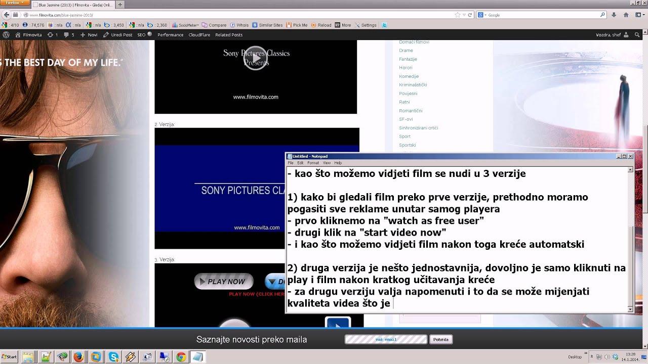 najbolji sajtovi za gledanje filmova sa prevodom