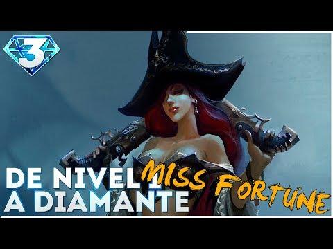 DE NIVEL 1 A DIAMANTE | MISS FORTUNE Lluvia de Balas para las TF!