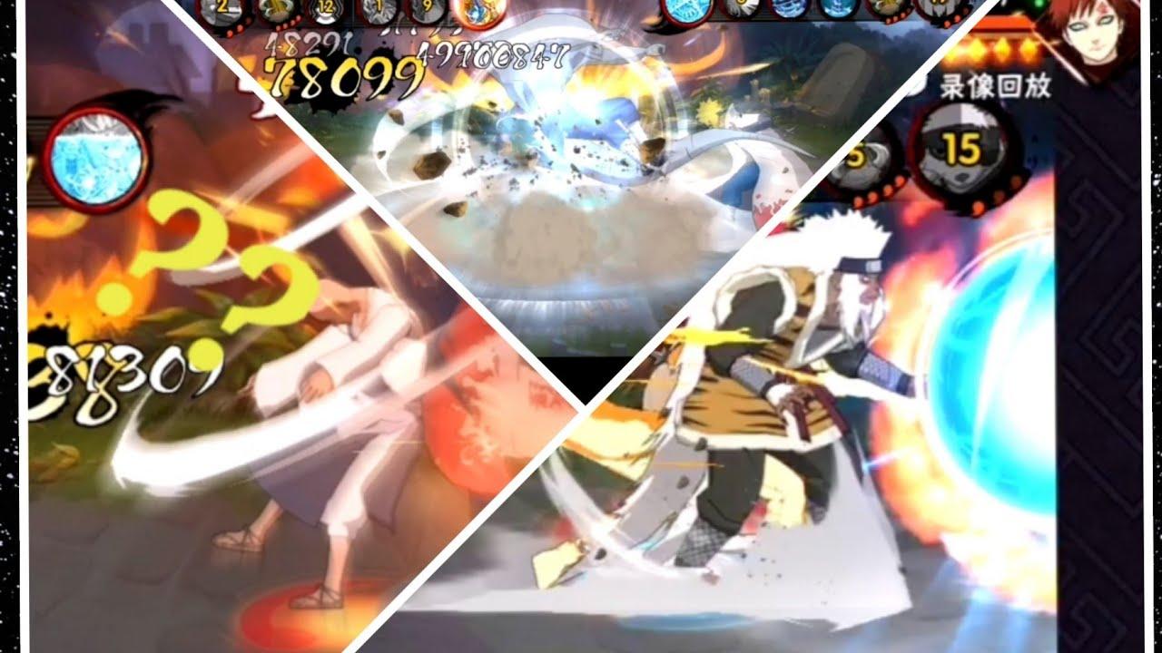 Naruto Mobile-Minato Edo Tensei Vs Chiriku ( Rank A ) cực ...