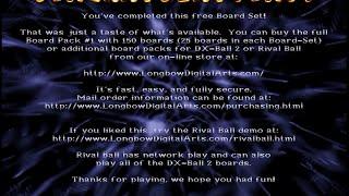 DX-Ball 2 Ending Screen