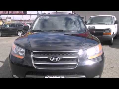 used 2008 hyundai santa fe new jersey state auto auction ny nj used cars for sale youtube. Black Bedroom Furniture Sets. Home Design Ideas