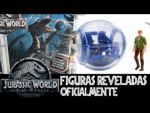 Figuras Reveladas de Jurassic World 2 - Fallen Kingdom