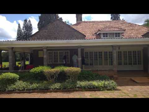 Out of Africa Karen Blixen House in Nairobi