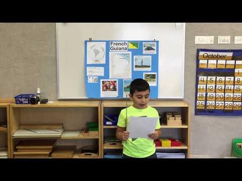 Jayden Hajali - French Guiana presentation