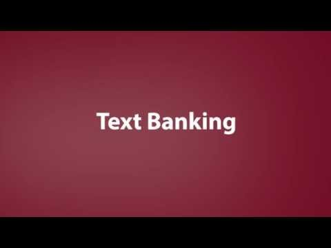 Guaranty Bank Text Banking Features