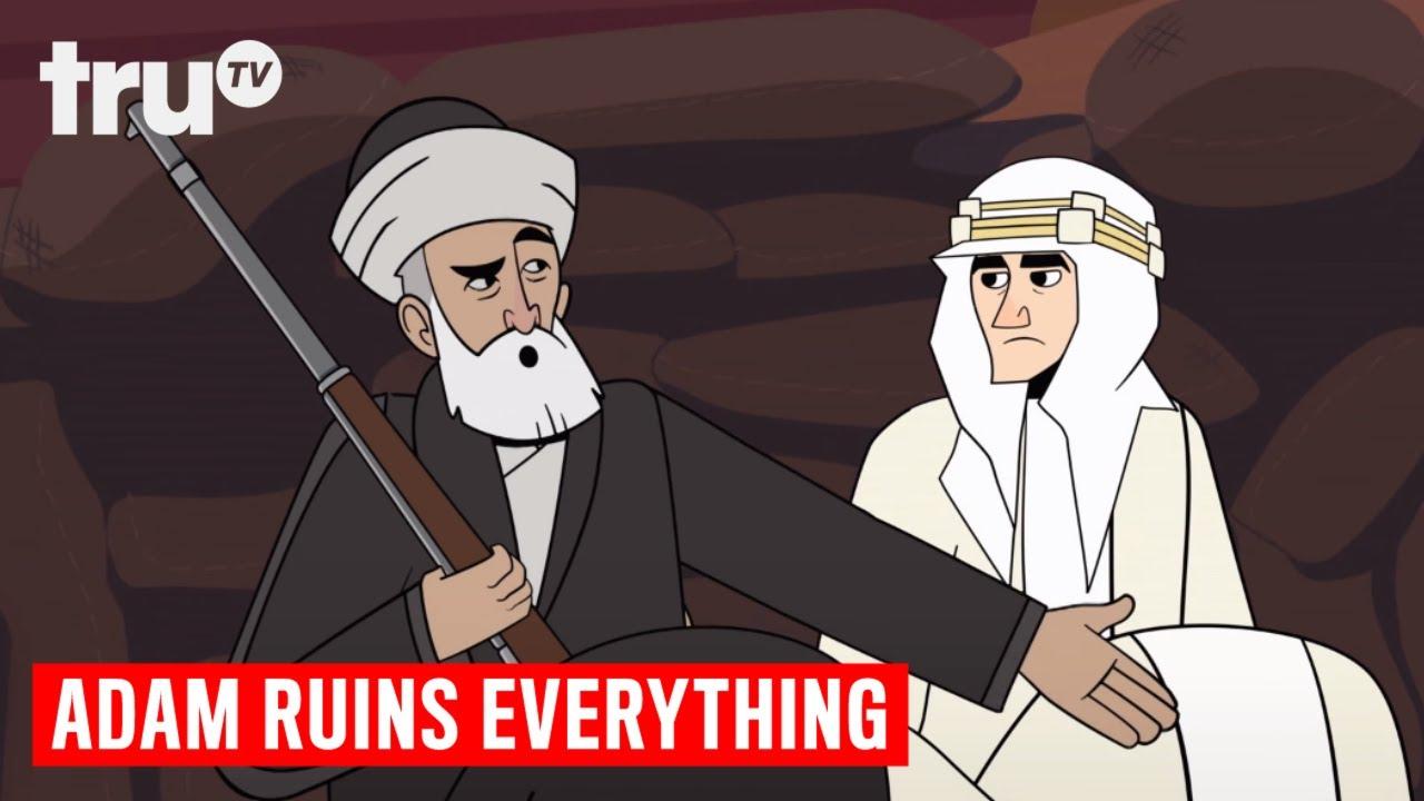 Adam Ruins Everything Christmas.Adam Ruins Everything Lawrence Of Arabia S Broken Promise Trutv