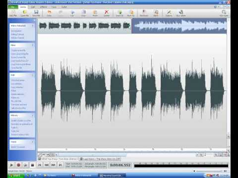 How to download and install Wavepad sound editor