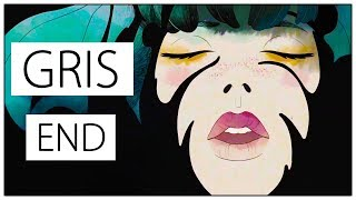 Let's Play GRIS Gameplay Part 5 Ending - Acceptance [PC Playthrough]