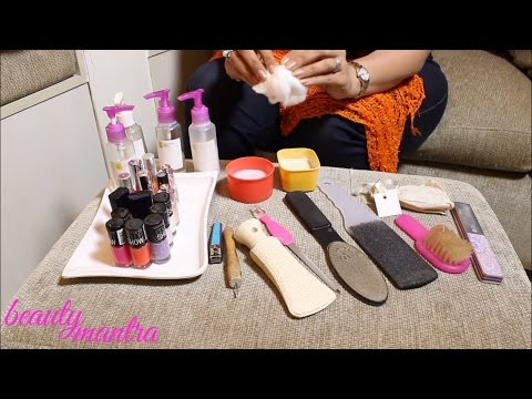 Spa Pedicure - How To Do at Home - Step by Step Tutorial ...