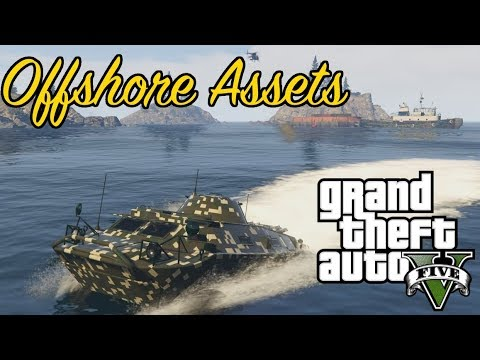 GTA 5 GUNRUNNING MISSION UNPOSSIBLE - Offshore Assets
