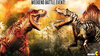 Jurassic World The Game Spinosaurus Weekend Battle Event VICTORY Stage 26! iOS/Android
