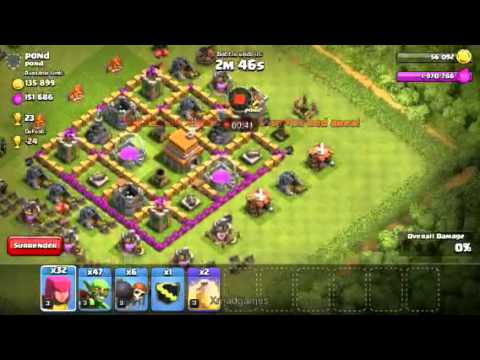 Clash Of Clans Show  Traps By Xmod
