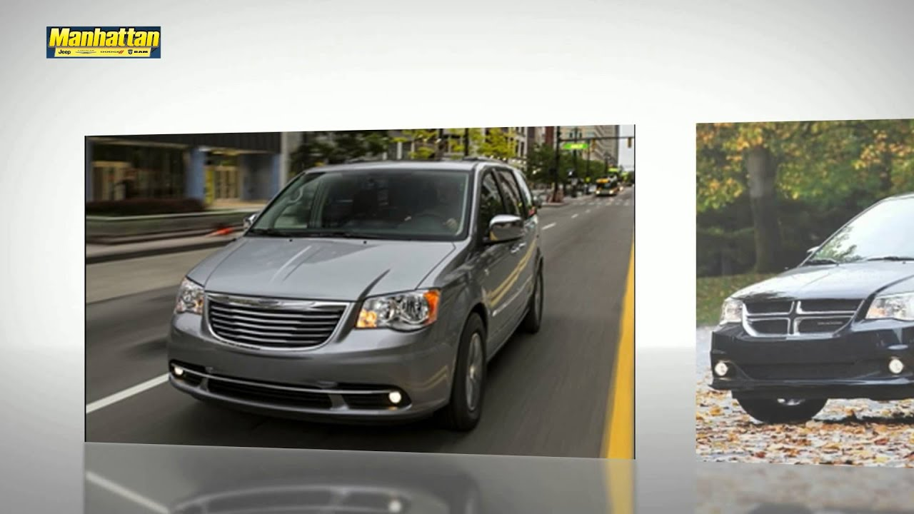 dodge grand caravan vs chrysler town and country. Black Bedroom Furniture Sets. Home Design Ideas