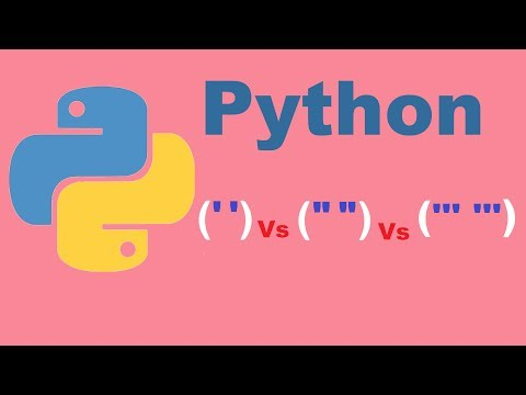 single-vs-double-vs-triple-quotes-in-python-|-python-tutorial-from-two-lazy-programmers