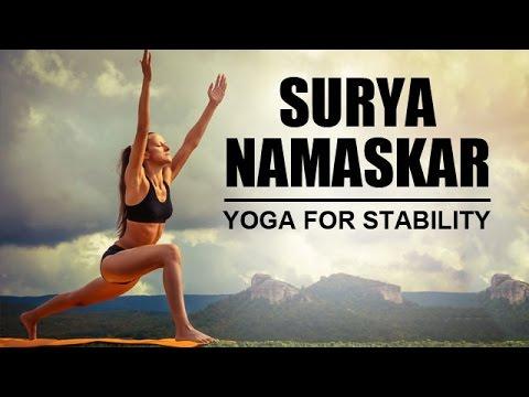 suryanamaskar  basic yoga poses  yoga for stability