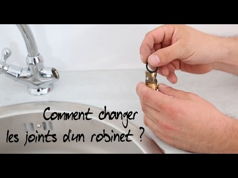 Comment Changer Les Joints DUn Robinet   Youtube