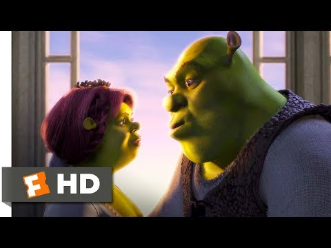 Shrek (2001) - True Love's True Kiss Scene (9/10) | Movieclips