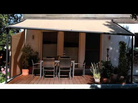 gl ck franke stellt vor markilux pergola 100 200 youtube. Black Bedroom Furniture Sets. Home Design Ideas