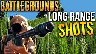 BATTLEGROUNDS LONG RANGE KILLS + SNIPES | Player Unknown's Battlegrounds
